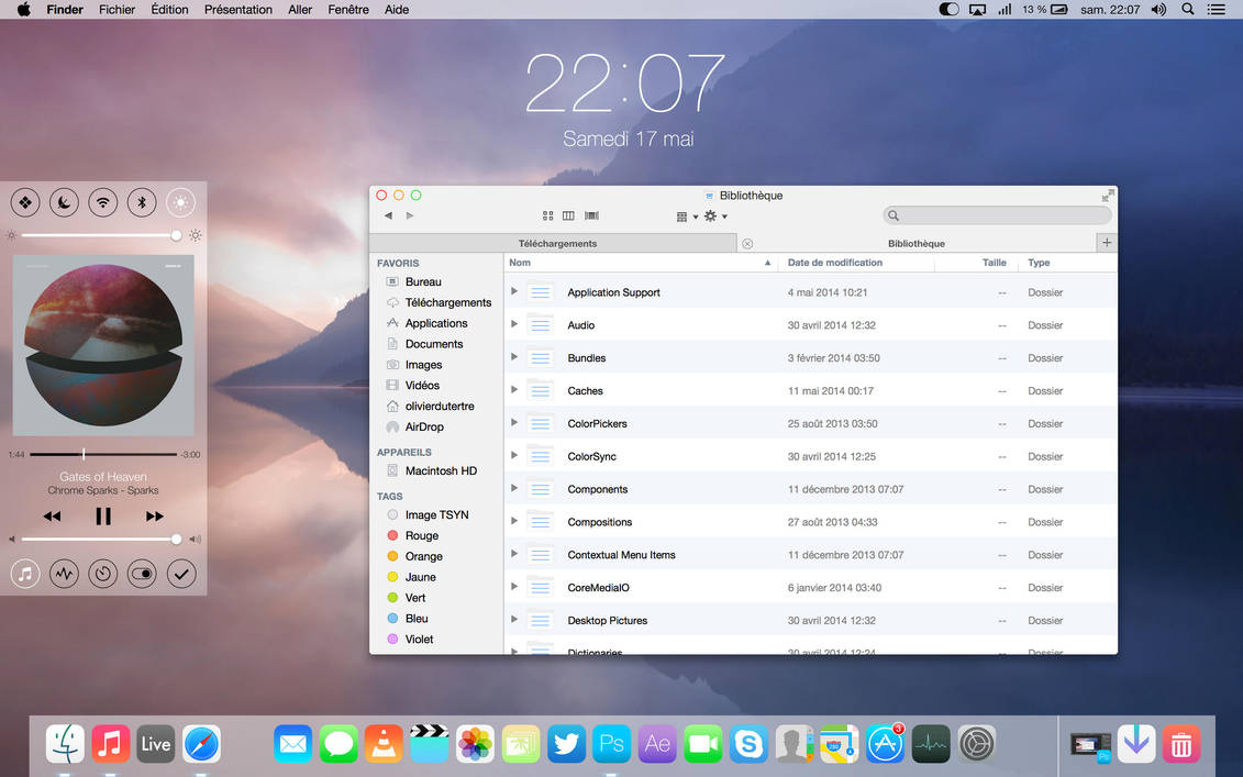 iOSX customized and themed Mac [UPDATED] by Olivierdud