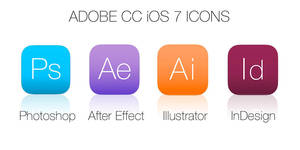 ADOBE CC iOS 7 ICONS by Olivierdud