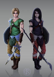 Link - Legend of Zelda by CristianoReina