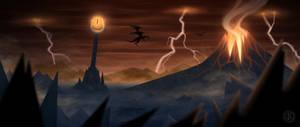 Mount Doom by CristianoReina