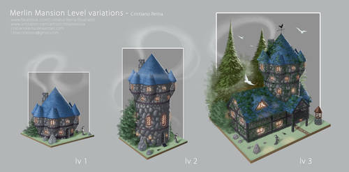 Merlin mansion by CristianoReina