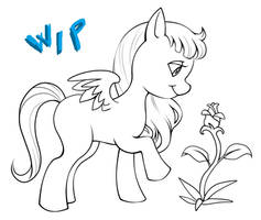 Mlp new generation - Star floret wip by CristianoReina