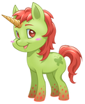 Mlp new generation - Flame natural by CristianoReina