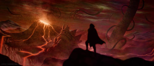 The Titans' awakening by CristianoReina