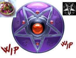 Evil crystal star compact - wip by CristianoReina
