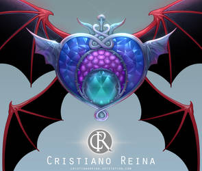 Evil crisis moon compact by CristianoReina