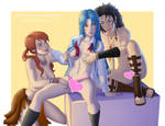 Kaname Vanilla and Fang lovers by CristianoReina