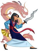 Mulan by aimeezhou