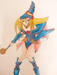 Dark Magician Girl by SwiftlakerREBORN