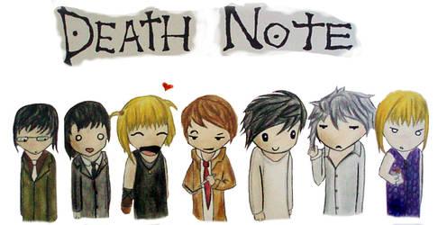 DEATH NOTE CHIBI by SwiftlakerREBORN