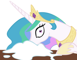 Celestia Loves Sugar by Derpy-Maple