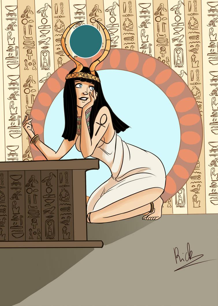Isis, egyptian goddess by Riccardo80