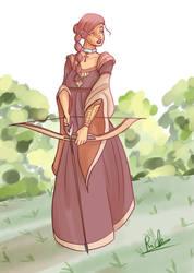 Medieval girl 2 by Riccardo80
