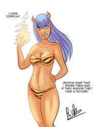 Lum cosplay... by Riccardo80