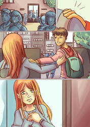 Crazy School comic page 2 by Riccardo80