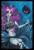 Pink Pigtails by vampireheartagram27