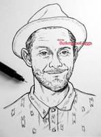 Jamie Hewlett by Bulletproof-Eggs