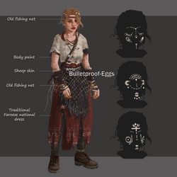 Char concept: Josie [ritual] by Bulletproof-Eggs