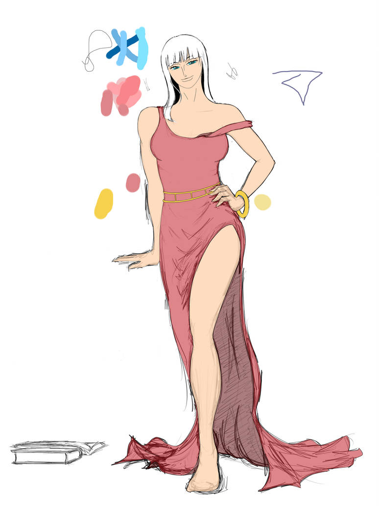 The Lovely Nico Robin (part III) colored by geneforson