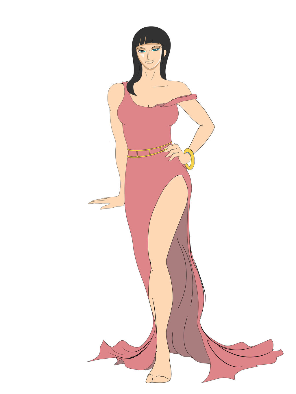 The Lovely Nico Robin part iv b by geneforson