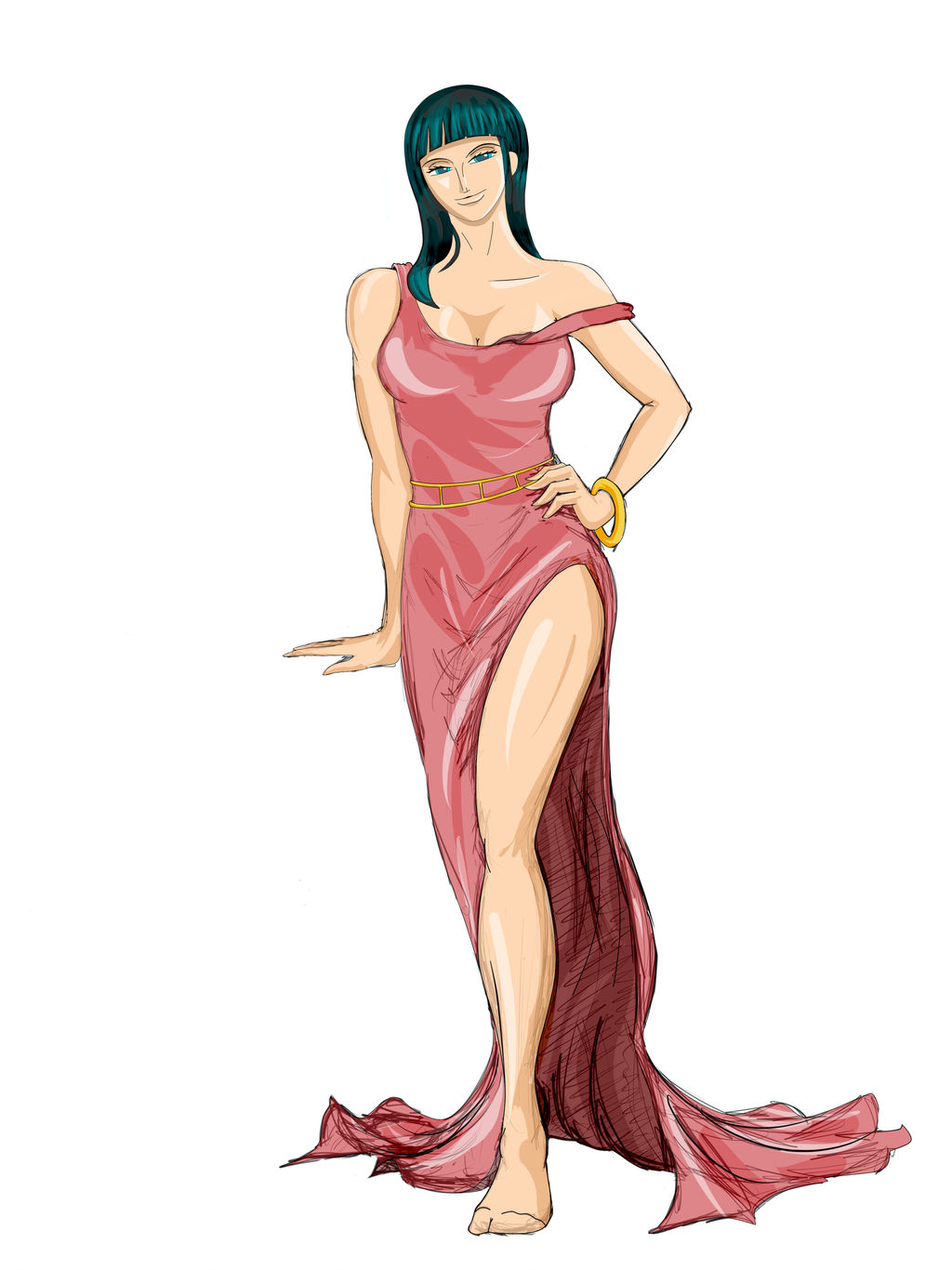 The Lovely Nico Robin part 6 a by geneforson
