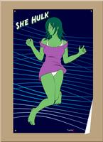 She Hulk - Jump by geneforson
