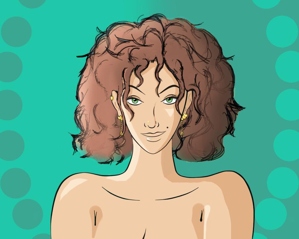 Kayla Green (w/Light Brown hair) by geneforson