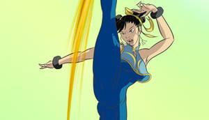 Deviant ID - Chun Li Rage Kick cropped by geneforson