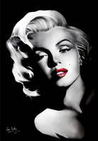 Marilyn Monroe by Liam York by MrYorkie