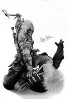 Connor Kenway by Liam York by MrYorkie
