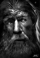 Gandalf The Grey by Liam J. York by MrYorkie