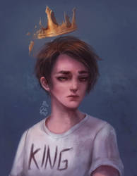 King by MissChibiArtist