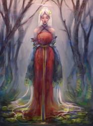 Forest Queen by MissChibiArtist
