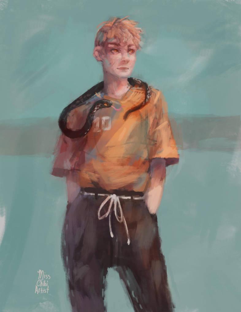 Snake Boy by MissChibiArtist