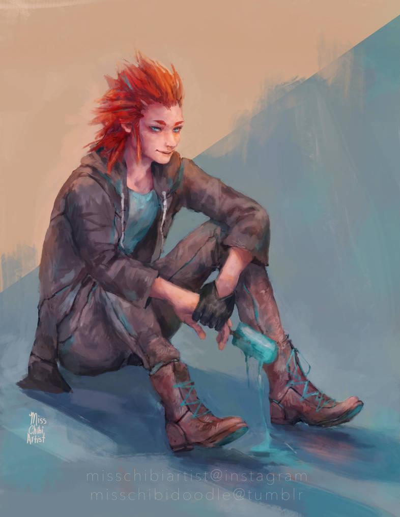 Axel - Lea by MissChibiArtist
