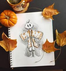 Mr. Pumpkin 01 by MissChibiArtist