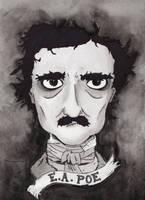 E.A. Poe by CatAddams