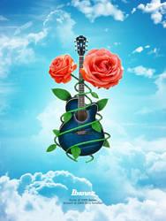 Ibanez Acoustic by SaviourMachine