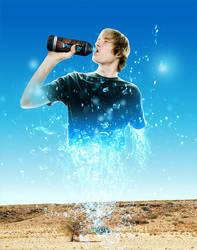 Waterbrand Ad by SaviourMachine