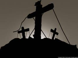 Cross Silhouet by SaviourMachine