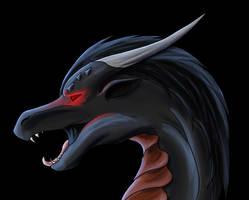 Dracowolf by Shiryuakais