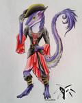 Sergal Pirate by Shiryuakais