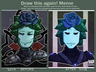 Draw this again! meme by Blustarpilot