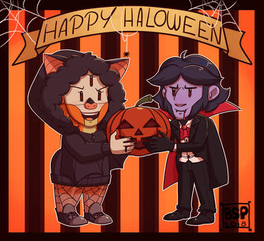 Happy halloween! by Blustarpilot