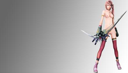 Final Fantasy Serah nude by Darentesx