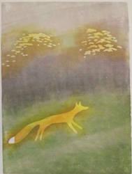Mist - Fox by cloutierj