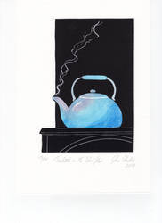 Teakettle on the Wood Stove by cloutierj