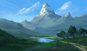 Homeland by HazPainting