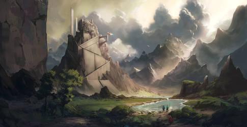 Ilya Border by HazPainting