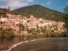 Roquebrun by AJChimaera